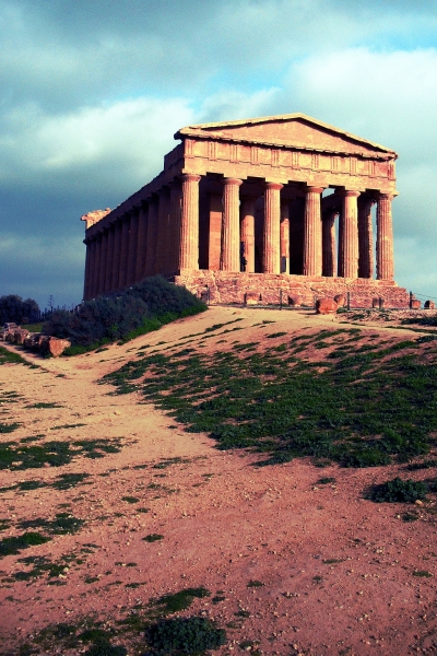 Agrigento Temple, Sicily